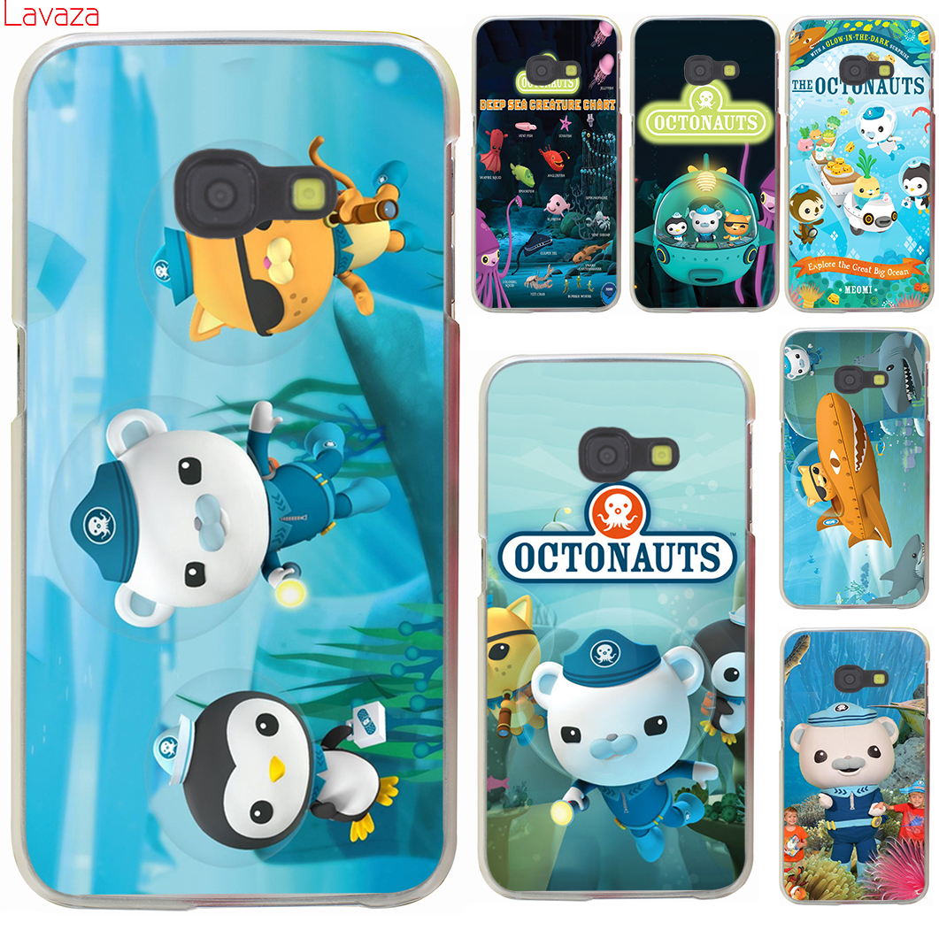 Lavaza Octonauts Hard Case samsung Galaxy A3 A5 A7 A8 2015 2017 2018 Grand Başbakan Not 8 5 4 3 2 Kapak