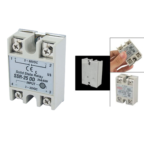 MYLB-Solid State Röle SSR DC-DC 25A 3-32VDC/5-60VDC