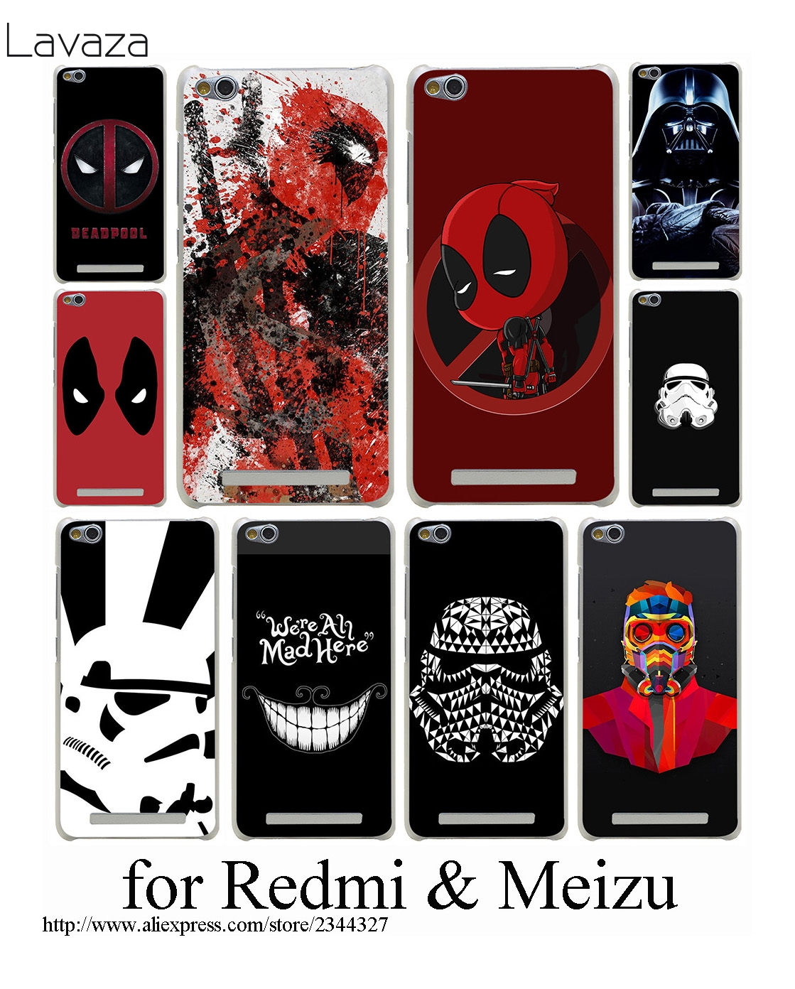 Lavaza Star Wars Stormtroop Hard case Meizu M3 M5 M6 not m5s M5c m3s mini U10 U20 Pro 6 7 artı fundas